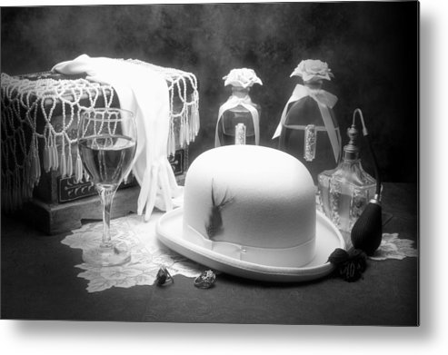 Hat Metal Print featuring the photograph Revelry by Tom Mc Nemar