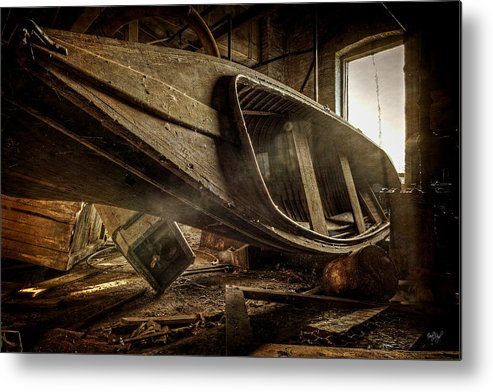 Boat Metal Print featuring the photograph The Last Port by Everet Regal