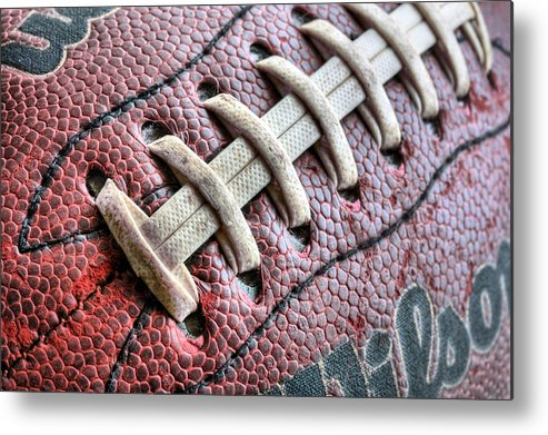 Football Metal Print featuring the photograph The Path by JC Findley
