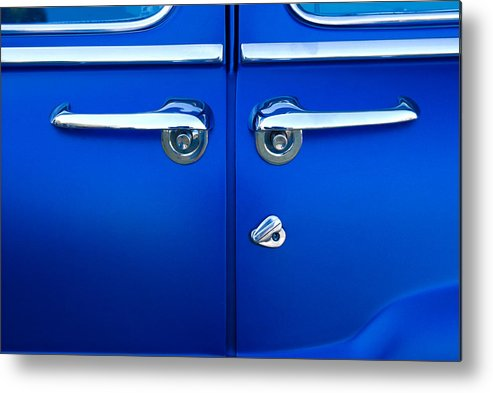 Blue Doors Metal Print featuring the photograph Mercury Suicide by Phil 'motography' Clark