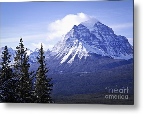 Mountain Metal Print featuring the photograph Mountain Landscape by Elena Elisseeva
