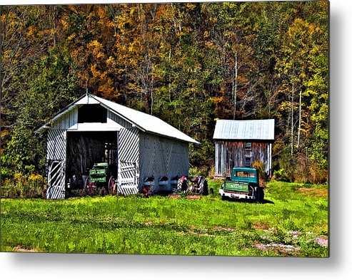 West Virginia Metal Print featuring the photograph Country Life by Steve Harrington