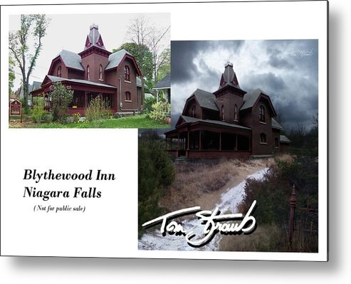 Blythewood Metal Print featuring the photograph Blythewood Inn by Tom Straub