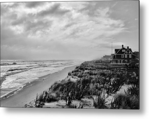Beach Metal Print featuring the photograph Mantoloking Beach - Jersey Shore by Angie Tirado