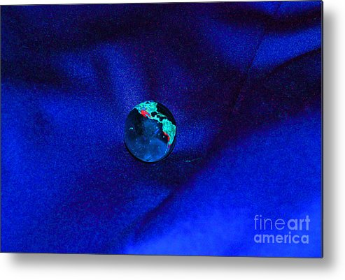 First Star Art Metal Print featuring the digital art Earth Alone by First Star Art