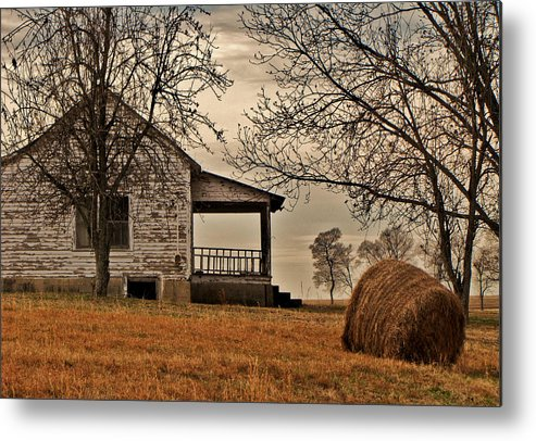Country Metal Print featuring the photograph Country World by Victoria Lawrence