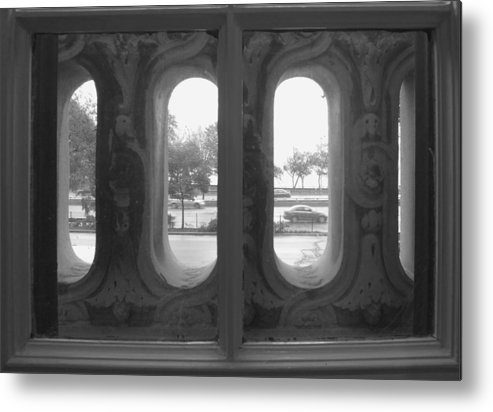Window Metal Print featuring the photograph Lake Shore Drive by Anna Villarreal Garbis