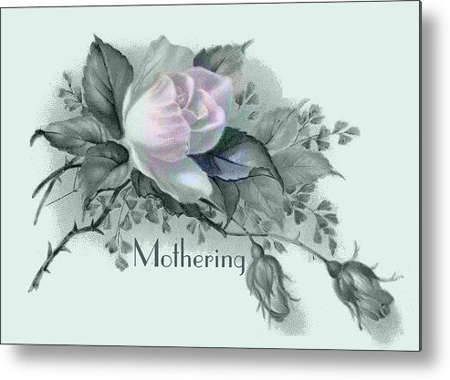 Beautiful Flowers For Mother's Day Metal Print featuring the digital art Beautiful Flowers For Mother's Day by Sarah Vernon