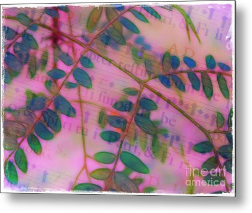 Song Metal Print featuring the photograph Song Of The Honey Locust by Judi Bagwell