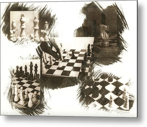 Chess Metal Print featuring the photograph Your Move by Caitlyn Grasso