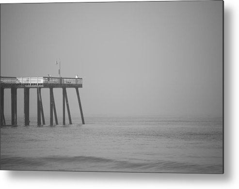 San Clemente Metal Print featuring the photograph San Clemente Pier by Ralf Kaiser
