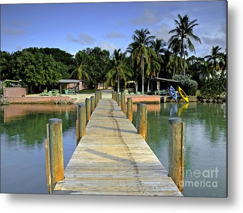 Keys Metal Print featuring the photograph Resort by Bruce Bain