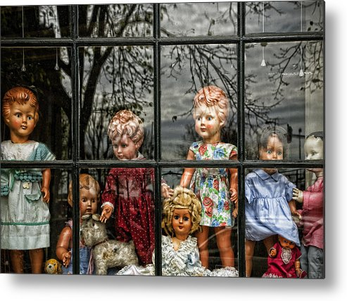 Dolls Metal Print featuring the photograph Uncertainty by Joanna Madloch