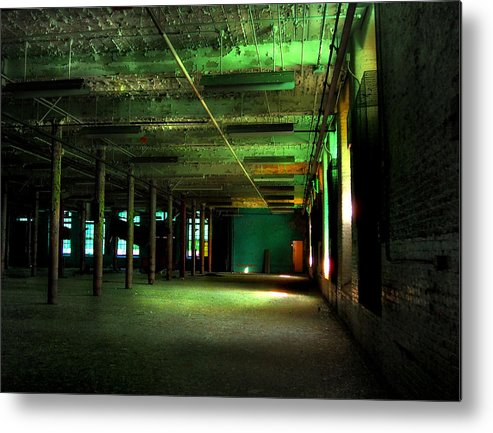 Gastonia Metal Print featuring the photograph The Loray Firestone Mill by Tammy Cantrell