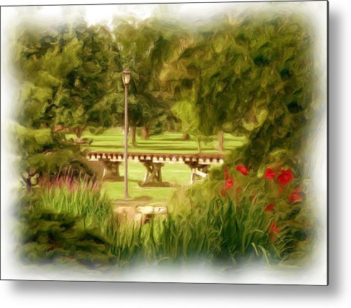 Park Metal Print featuring the photograph Paint In The Park by Jim Darnall