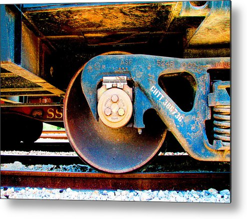 Art166 Metal Print featuring the photograph Foundation 2 by Wendy J St Christopher