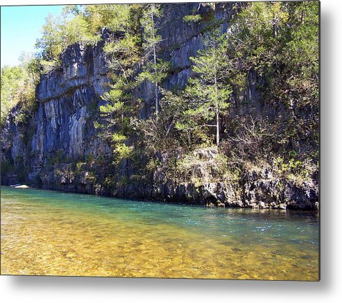 Current River Metal Print featuring the photograph Current River 7 by Marty Koch