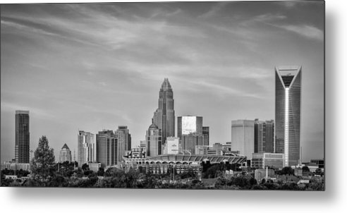 Charlotte Metal Print featuring the photograph Charlotte Chrome by Brian Young