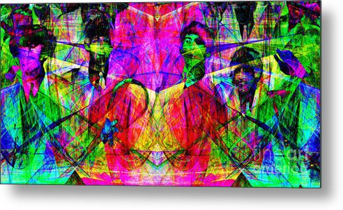 Celebrity Metal Print featuring the photograph The Beatles 20130615 by Wingsdomain Art and Photography