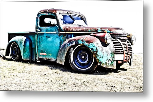 Chev Pickup Metal Print featuring the photograph Chevrolet Pickup by Phil 'motography' Clark