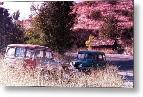 Final Metal Print featuring the photograph Final Resting Place by Anna Marie Burdette