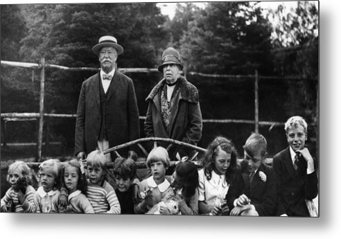 1920s Metal Print featuring the photograph Former U.s. President William Taft by Everett
