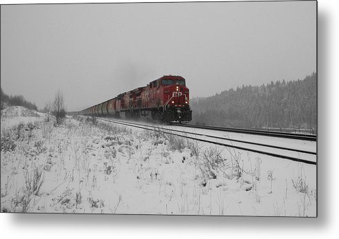 Transportation Metal Print featuring the photograph Cp Rail 2 by Stuart Turnbull