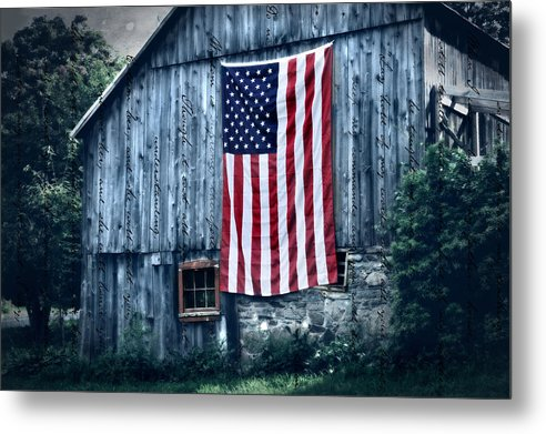 Barn Metal Print featuring the photograph Pride by Thomas Schoeller