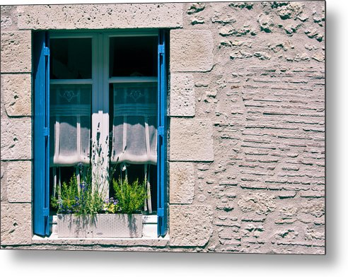 French Window Metal Print featuring the photograph A Summer In Europe by Georgia Fowler