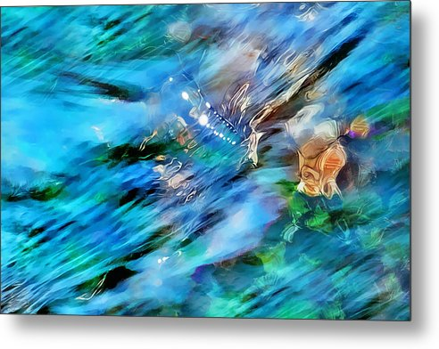 Refracted Light Metal Print featuring the photograph Misty Waters 2 by Terril Heilman