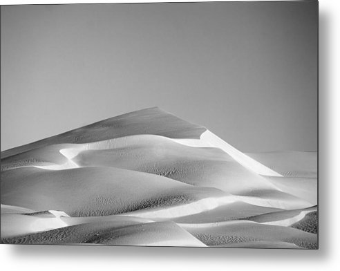 Black & White Metal Print featuring the photograph Gordon Wells Dunes by Peter Tellone