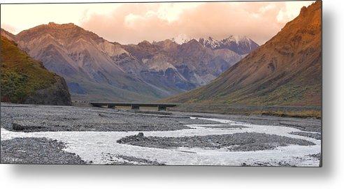 Alaska Metal Print featuring the photograph Savage River by Jim Cook