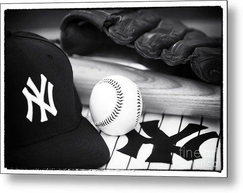 Pastime Essentials Metal Print featuring the photograph Pastime Essentials by John Rizzuto