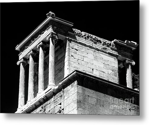 Temple Of Athena Nike Metal Print featuring the photograph Temple Of Athena Nike by John Rizzuto