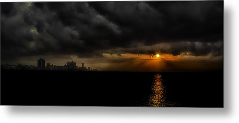 America Metal Print featuring the photograph Sunset In Havana by Erik Brede