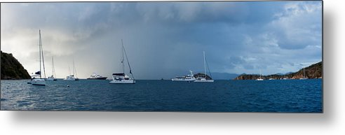3scape Photos Metal Print featuring the photograph Passing Storm by Adam Romanowicz