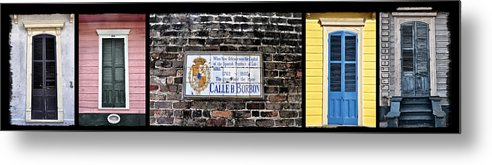 Calle D Borbon Metal Print featuring the photograph Calle D Borbon by Bill Cannon