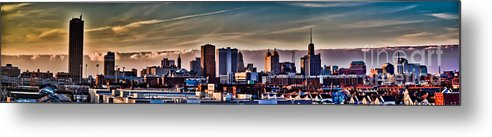 Urban Metal Print featuring the photograph Our Finest by Chuck Alaimo
