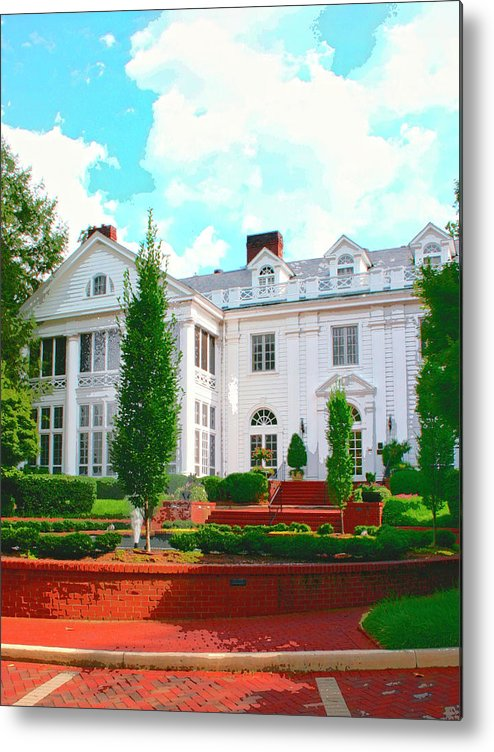 Charlotte Metal Print featuring the photograph Charlotte Estate Charlotte Nc by William Dey