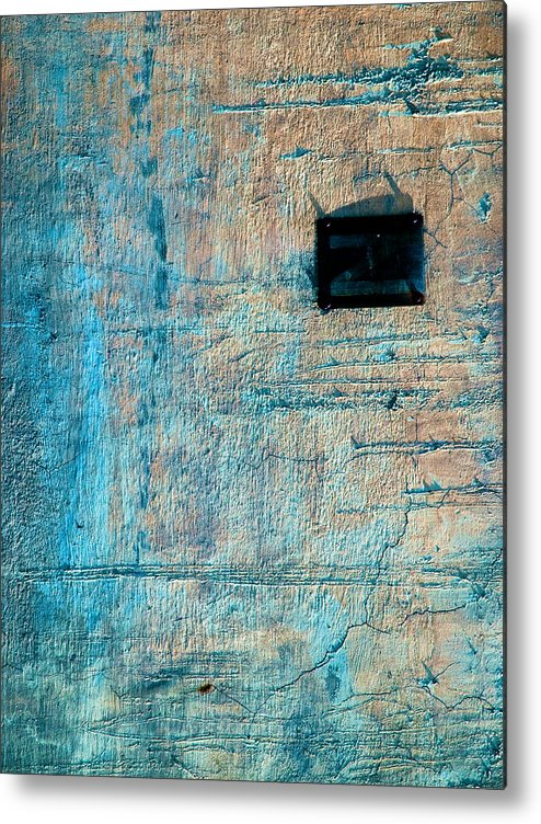 Industrial Metal Print featuring the photograph Foundation Eight by Bob Orsillo