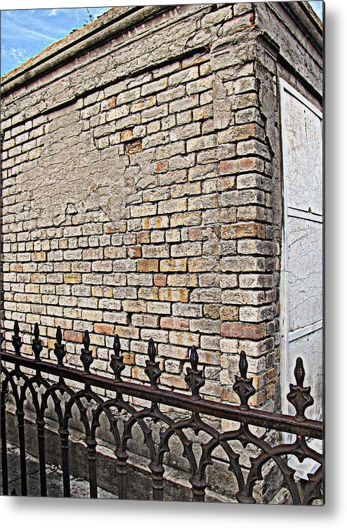 St Louis Cemetery No. 1 Metal Print featuring the photograph St Louis Cemetery No. 1 by Beth Vincent