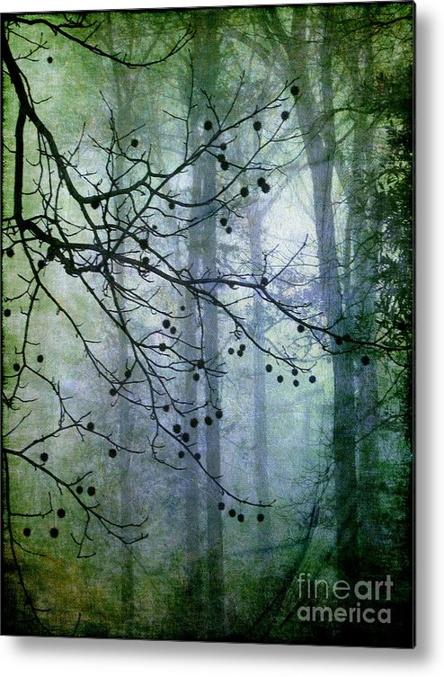Forest Metal Print featuring the photograph The Forest Cathedral by Judi Bagwell
