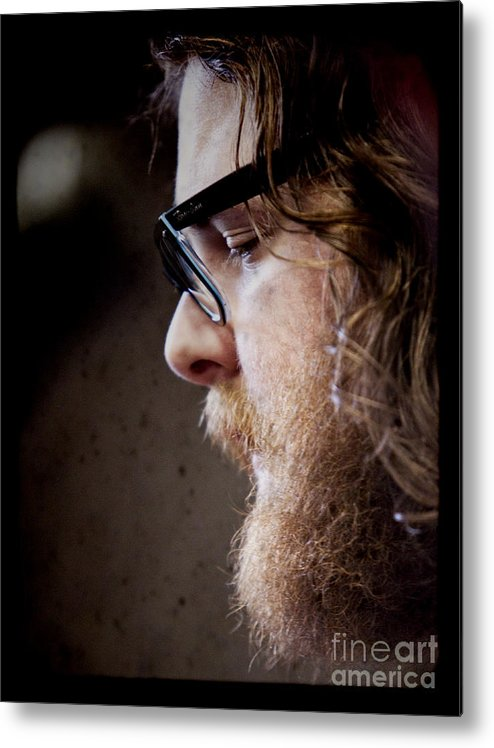 Andy Hull Metal Print featuring the photograph Andy Hull Of Manchester Orchestra by Dustin K Ryan