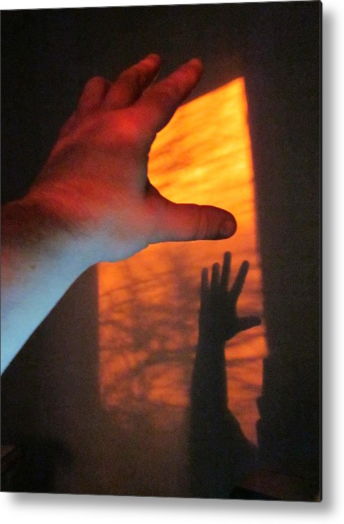 Guy Ricketts Photography Metal Print featuring the photograph Forever Living Hands by Guy Ricketts