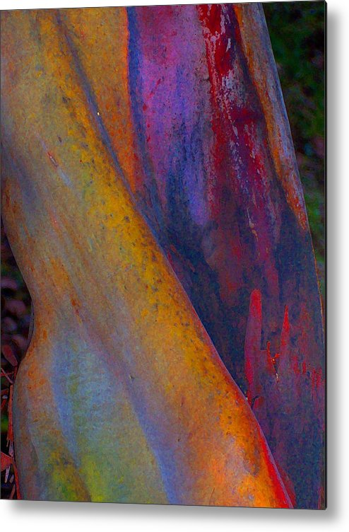 Abstract Metal Print featuring the digital art Turning Point by Richard Laeton