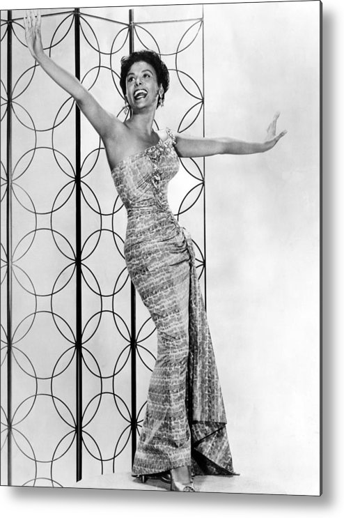 1950s Metal Print featuring the photograph Lena Horne. Ca. 1950s. Courtesy Csu by Everett