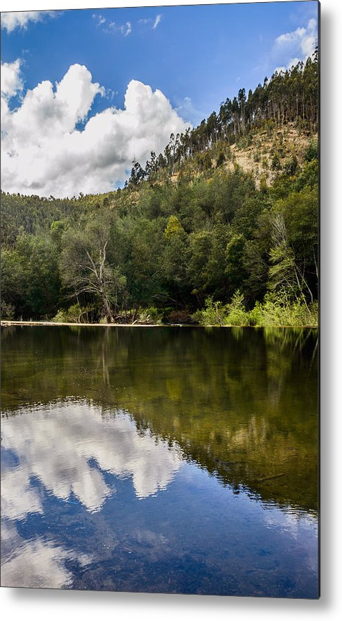 River Metal Print featuring the photograph River Reflections I by Marco Oliveira