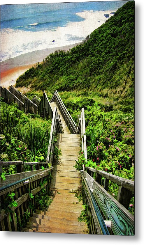 Block Island Metal Print featuring the photograph Block Island by Lourry Legarde