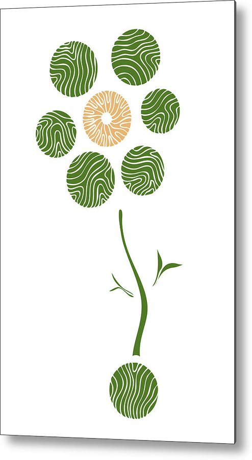 Spring Flower Metal Print featuring the painting Spring Flower by Frank Tschakert