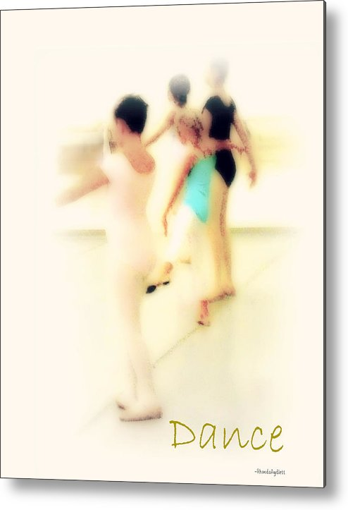 Dance Metal Print featuring the mixed media Dance by YoMamaBird Rhonda